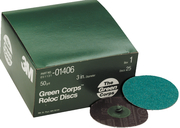 "2"" Green Corps Roloc 24 Grit"