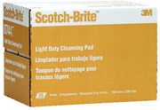 Scotch Brite Pads Lt Duty 20Bx