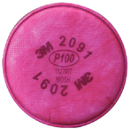 P100 Particulate Filter 2/Bag