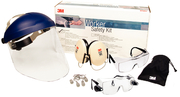 Workers Safety Kit with +2.0 Diopter Reader Eyegear