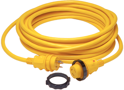 30A Shore Power Cord Yel 50'