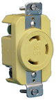 Single Receptacle 30A Locking