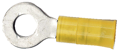 Nylon Insulated Ring Terminal, 12-10 1/4 (100)