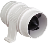 "Turbo 3000-3"" Blower Wht 12V"