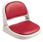 Proform Boat Seat W/Cushions, Gray/Red
