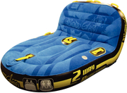 2-Way Reaction Comfort Top Closed Top Lounger/Chariot Towable Tube