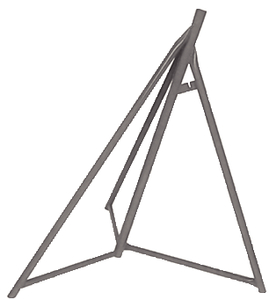 Sailboat Stand Baseonly 48-65I