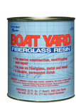 Boat Yard Resin Quart W/Wax
