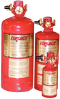 350 cu. ft. CG2 Automatic Discharge Fire Extinguisher w/HFC-227ea