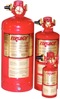 200 cu.ft. MA2 Manual/Automatic Discharge HFC-227ea Fire Extinguisher