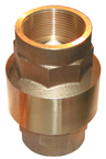 1 Bronze In-Line Check Valve