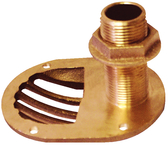 "3/4"" scoop Thru-Hull With Nut"