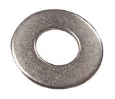 #8 S/S Flat Washer-25/Cd