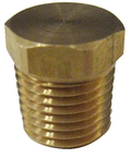 Brass Plug Hex Head 1/8""
