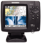 FISHFINDER 598CI HD DI COMBO Dual Beam Color Fishfinder/GPS/Charplotter w/Side Imaging