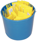 Pail Of Plastic Putty Knives