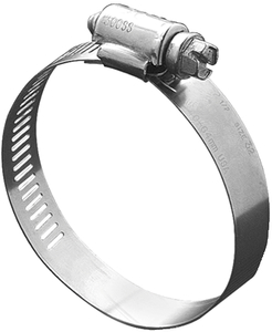 SS Hose Clamps, Size 6