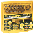 120 Piece SS Hose Clamp Assortment w/Display