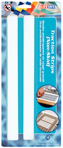 Vinyl Traction Strips Wh 10/Pk