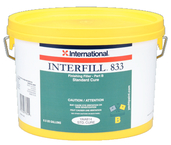 Interfill 833 Fine Finishing Fairing Compount, Part B Fast Cure, 1/2 Gal.