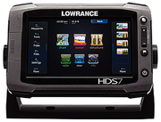 HDS-7 Touch Fishfinder/GPS/Chartplotter w/Insight USA Cartography, 83/200 kHz with Structure Scan Transducer