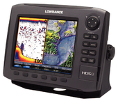 HDS-8 Insight USA Fishfinder/GPS/Chartplotter, 83/200 kHz