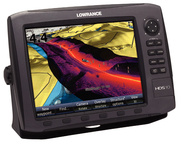 HDS-5 Lake Insight Fishfinder/GPS/Chartplotter, 83/200 kHz w/StructureScan
