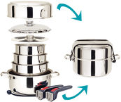 Cookware 10 Pc. S/S