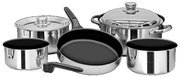 Cookware 10Pc. S/S W/ Nonstick