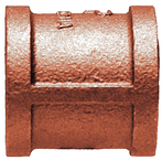1/4 Bronze Pipe Coupling