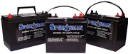 220 Amp Deep Cycle Golf Car Type Battery , 6V
