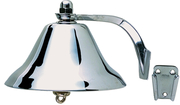 "8"" Fog Bell, Chrome Plated Brass"