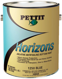Horizons Ablative Bottom Paint, Black Qt.