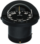 Navigator Compass, Flush Mt., Flat Dial, Black