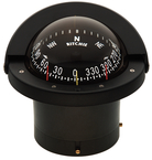 Navigator Compass, Flush Mt., Combi Dial, Black