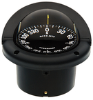 Helmsman Compass-Flush Mt., Flat Dial, Black