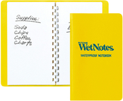 Wetnotes&Reg; Notebook