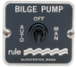 3-Way Bilge Panel Switch