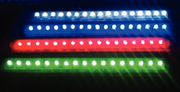 8 LED Scanstrip Red