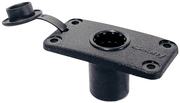 Flush Mount Bracket, Black