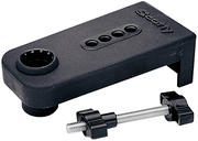 Rod Holder Oarlock Mount, Black