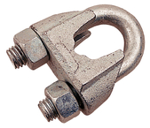 "Wire Rope Clip 3/16"" Zinc"