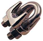 SS Wire Rope Clip 1/4""