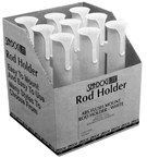 Rod Holder Display W/ 9Ea