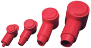 Pvc Terminal Cap Red (8-2 ga.), Pair