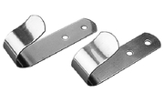 "SS Boat Hook Holder, 1-1/4"", Pair"