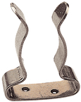 "SS Boat Hook Clips, 3/4"" - 1"", Pair"