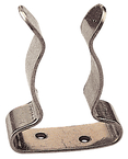 "SS Boat Hook Clips, 1"" - 1 1/4"", Pair"