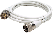 Coax Antenna Cable w/Fittings, 10'