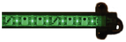 "40"" LED Strip Light, Green"